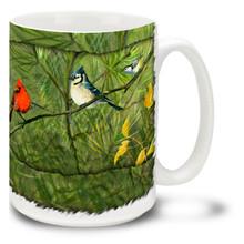 Songbird Collage - 15oz Mug