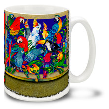 Spectrum of Tropical Birds - 15oz Mug