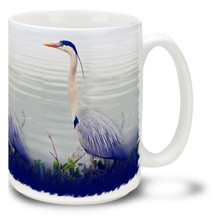 Great Blue Heron - 15oz Mug