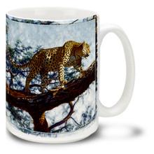 Catwalk Leopard - 15oz Mug