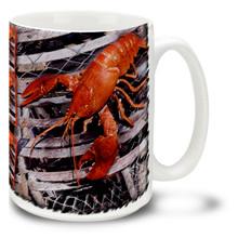 Coastal Lobster Trap - 15oz Mug