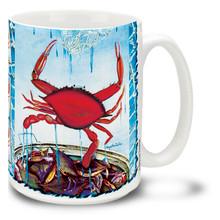Red Crab Coastal Favorite - 15oz Mug