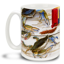 Bay Seasoning Blue Crab - 15oz Mug