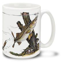Saltwater Fishing Favorites Snook - 15oz Mug