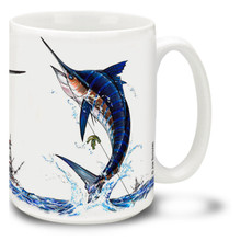 Saltwater Fishing Favorites Marlin - 15oz Mug