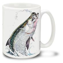 Saltwater Fishing Favorites Tarpon - 15oz Mug