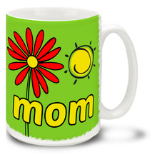 Easy Spring Day Mom Green - 15oz Mug