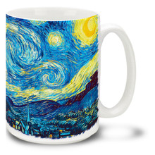 The Starry Night - Vincent Van Gogh - 15 oz Coffee Mug