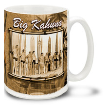 Big Kahuna Old Time Surfers - 15 oz. Mug