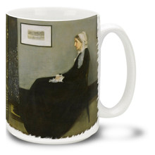 Whistler's Mother - James McNeill Whistler - 15 oz Coffee Mug