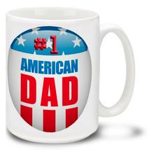 #1 American Dad - 15oz Mug