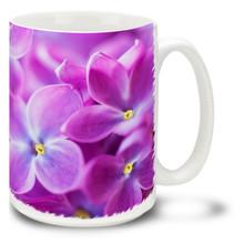 Lilac Flowers - 15 oz Mug