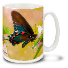 Blue Swallowtail Butterfly - 15 oz Mug