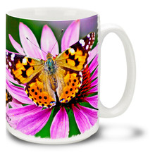 Painted Lady Butterfly - 15 oz Mug