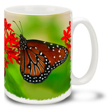 Queen Butterfly - 15 oz Mug