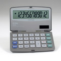 XE36 12-Digit Large Size Compact with Last Digit Erase Calculator