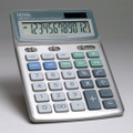 XE100 12-Digit Desktop with Last Digit Erase Calculator