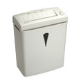 JS800 8-Sheet Strip Cut Shredders w/Basket - White