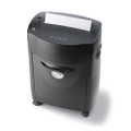 85MX 10-Sheet Cross Cut Shredder w/Console /CD Destroyer