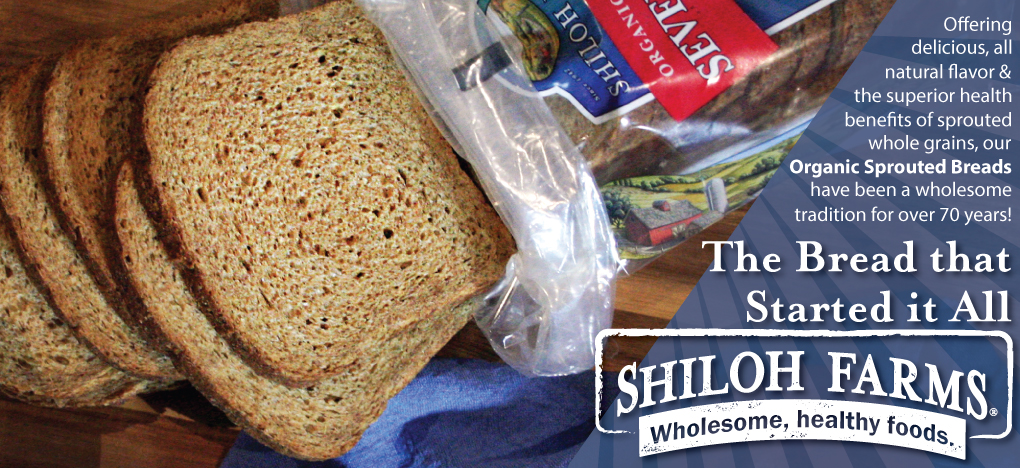 Shiloh Farms Sprouted Bread