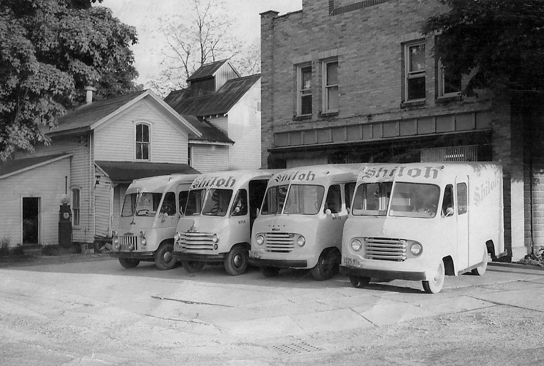 Vintage Shiloh Farms Trucks