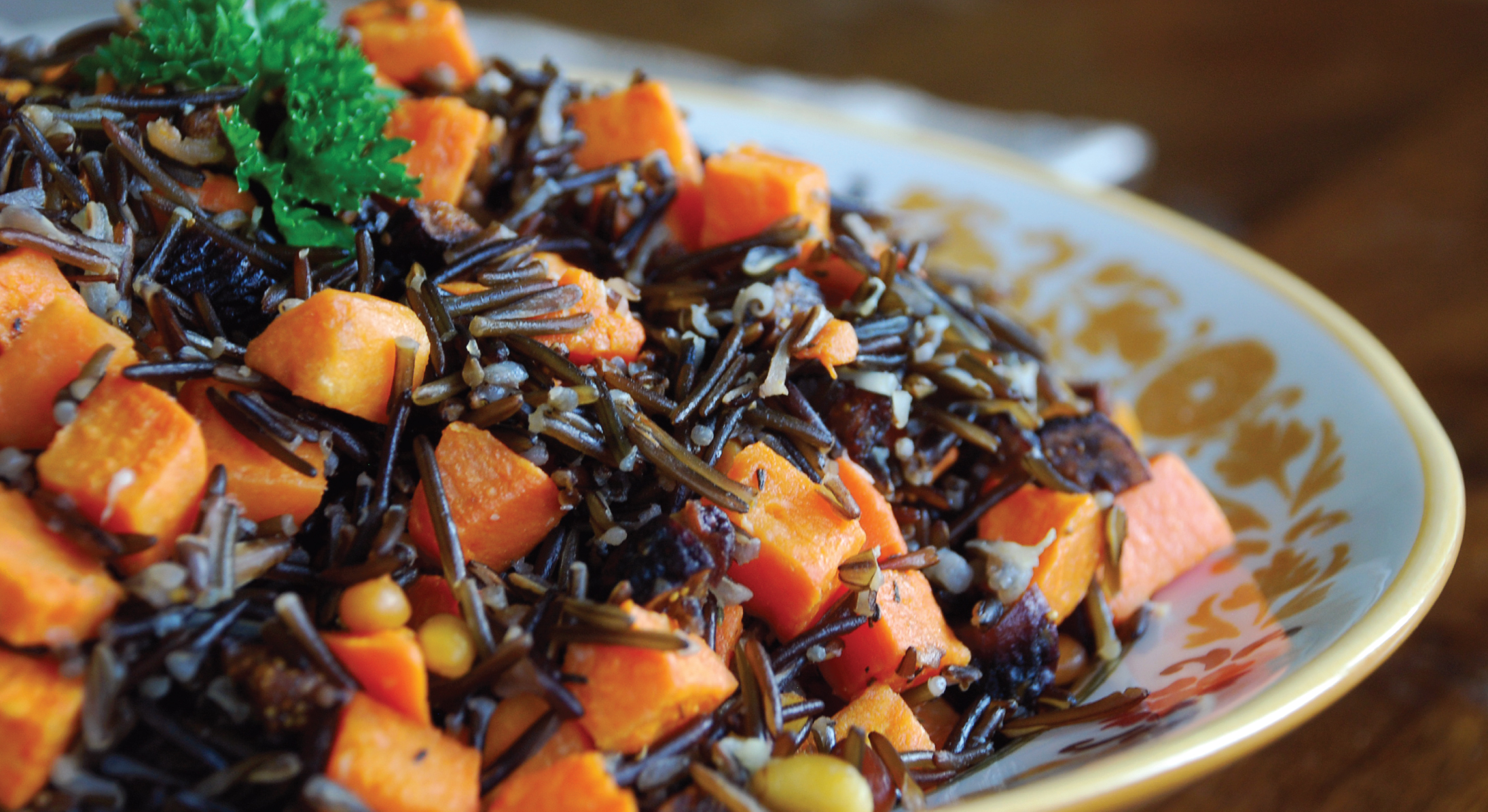 Shiloh Farms Wild Rice Stuffing with Figs