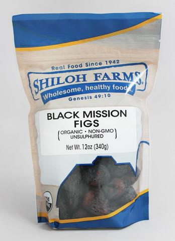 Shiloh Farms Organic Black Mission Figs