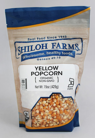 Shiloh Farms Organic Yellow Popcorn