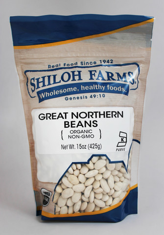 Shiloh Farms Organic Great Northern Beans