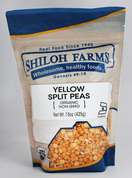 Yellow Split Peas, Organic