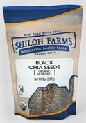 Shiloh Farms Organic Black Chia Seeds