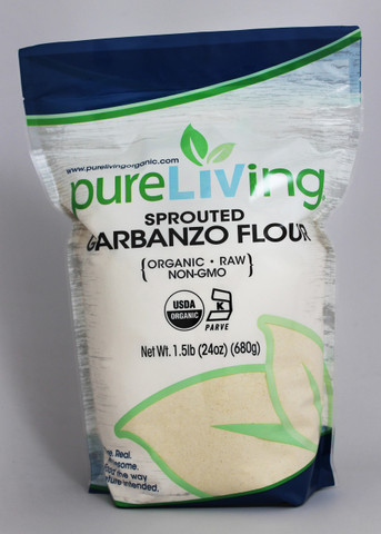 Sprouted Garbanzo Flour | PureLiving