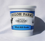 Whole Milk Ricotta Goat Cheese, Organic - 8 oz (case of 6)