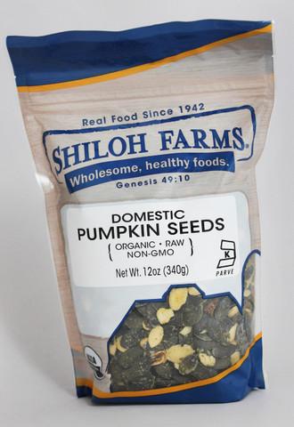Shiloh Farms Organic Domestic Pumpkin Seeds