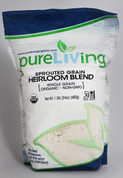 PureLiving Sprouted Heirloom Blend Flour / Organic, Kosher, Non-GMO, Whole Grain, Raw