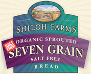 Sprouted No Salt 7 Grain Bread, Organic