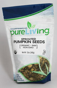 PureLiving Sprouted Pumpkin Seeds / Organic, Kosher, Non-GMO, Raw