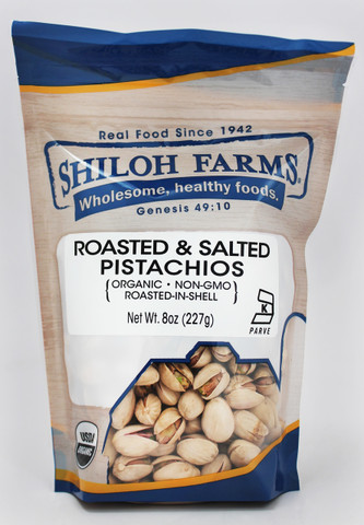Shiloh Farms Organic Roasted & Salted Pistachios