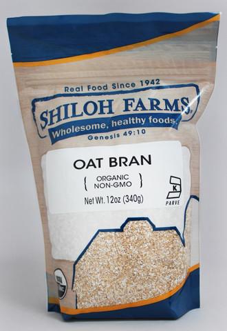 Shiloh Farms Organic Oat Bran (12oz)