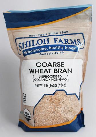 Shiloh Farms Organic Coarse Wheat Bran (1lb)