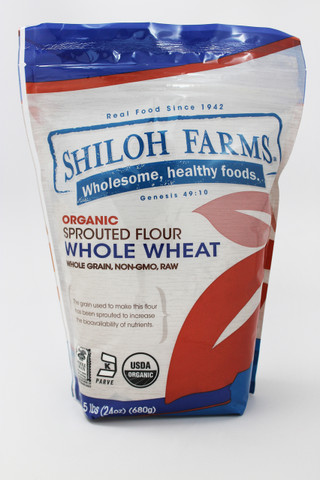 Sprouted Spring Wheat Flour, 1.5 lbs.