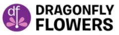 Dragonfly Flowers Logo