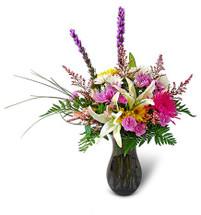 Dragonfly's Artful Elegance Bouquet