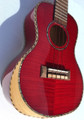 "Ulo XS-68 24"" Premium Aquila Red Series Ukulele with arm rest"