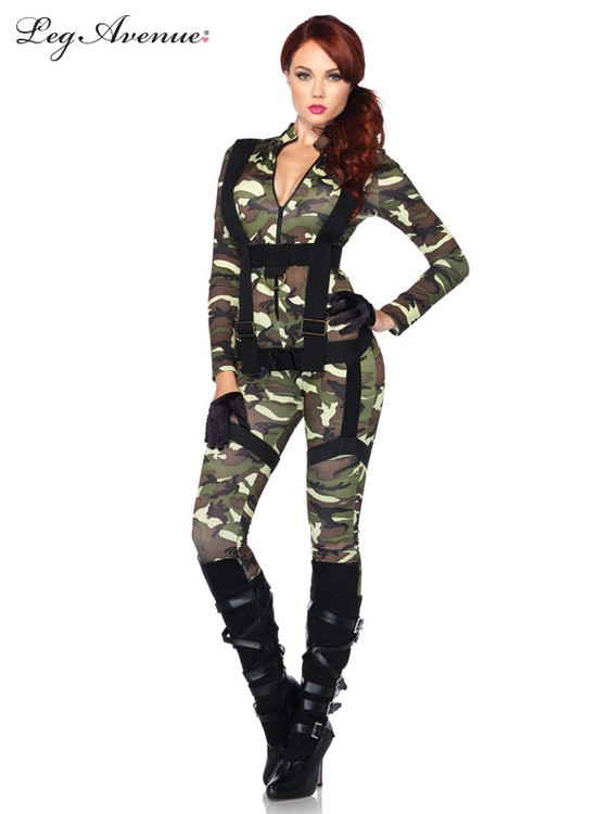 Pretty Paratrooper Womens Costume