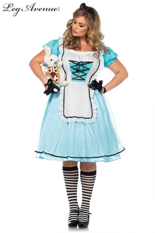 Alice in Wonderland Tea Time Plus Size Womens Costume