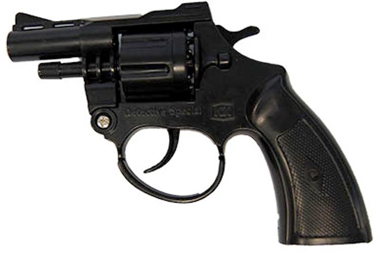 007 Gun - Black