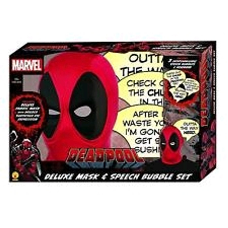 Deadpool Speech Bubble Deluxe Mask