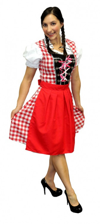 Oktoberfest Beautiful Beer Maiden Costume