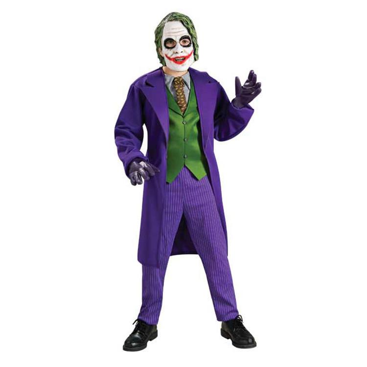 Joker Deluxe Boys Costume